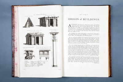 A treatise on civil architecture, in which principles of that art are laid down... The second edition. London; printed by J. Dixwell... To be had at the author's house in Berner Street... MDCCLXVIII.